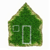 House  from grass Royalty Free Stock Image