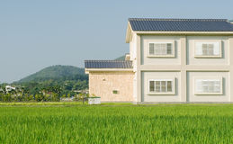 House on the grassland Royalty Free Stock Images