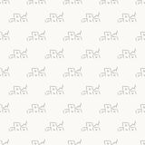 House gray simple seamless abstract pattern Stock Images