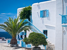 House in the Greek Islands Stock Photos