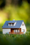 House on green Royalty Free Stock Image