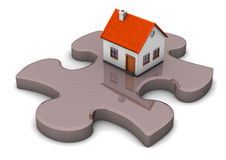 House Puzzle Royalty Free Stock Photos