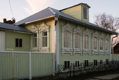 House of Grigory Rasputin in Pokrovskoe. Russia Stock Photography