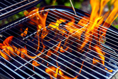 House Grill Stock Photo