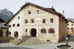 House in guarda Stock Photos
