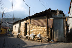 House in Guatemalan Mayan town Royalty Free Stock Photography