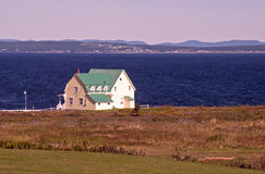 House by the Gulf of St. Lawrence Stock Photography