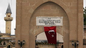 House of haci bektas veli anatolian town mosque house islam sufism 3 stock footage