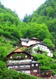 House in Hallstatt, Austria Royalty Free Stock Photos