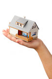 House on the hand Stock Photography