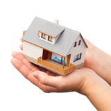 House on the hand Stock Image