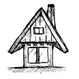 House Hand Drawn Royalty Free Stock Photography
