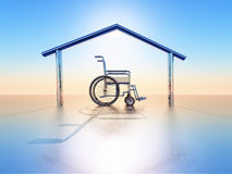 House and handicap Stock Photography