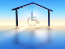 House and handicap Stock Photos