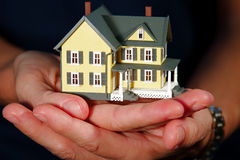 House in Hands Royalty Free Stock Image