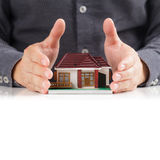 House and hands Royalty Free Stock Photos