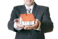 House in hands Royalty Free Stock Photography