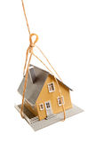 House Hanging by a String Royalty Free Stock Image