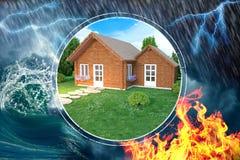 House hazards Stock Photography