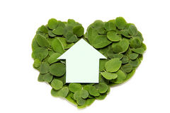 House on the heart Stock Photography