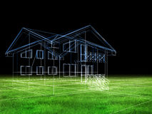 House in herb Stock Image