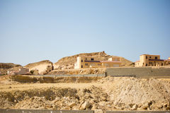 House on the hill. In Hurghada Royalty Free Stock Photography