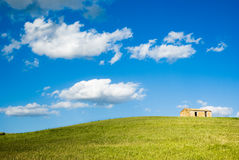 The house on the hill Stock Photos