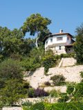 House on the hill, Balchik, Bulgaria Royalty Free Stock Photo