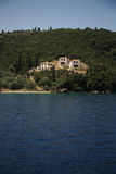 House on the hill, Kefalonia Stock Images