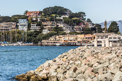 House hills in Tiburon Stock Photography