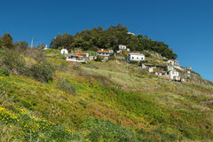 House on the hillside Royalty Free Stock Image