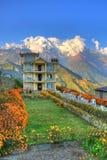 House,Himalayans,Nepal Stock Image