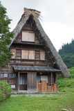 House in historic village Shirakawa-go, Gifu prefecture, Japan Stock Photography
