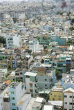House at Ho Chi Minh city, view from sky building in Ho Chi Minh city Stock Photography