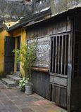 House in Hoi An. An old historic traditional house in the UNESCO listed central Vietnamese town of Hoi An stock images