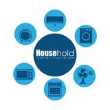 House hold design Stock Photo