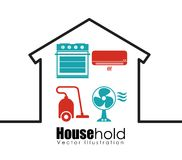 House hold design Royalty Free Stock Photos