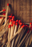 House hold safety matches pile Stock Photography