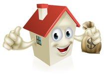 House Holding Money Stock Photo