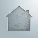 House Hole Concrete Stock Image