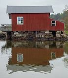 House_at_Holma_boat_club_2 Stock Photography