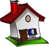 House, Home, Clip Art, Facade Stock Images