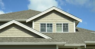 House Home Exterior Siding BC Royalty Free Stock Photo