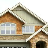 House Home Front Exterior View Royalty Free Stock Photos