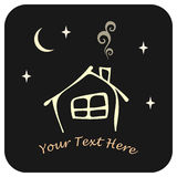 House, home - icon Royalty Free Stock Photos