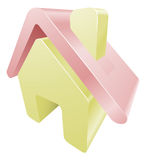House home icon clipart Stock Images