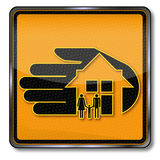 House and home insurance. For the family Royalty Free Stock Photos