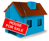 House and home mortgage sign Stock Photography