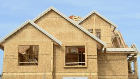 House Home New Construction Royalty Free Stock Photos