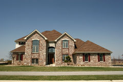 House home residential subdivision family Stock Photo